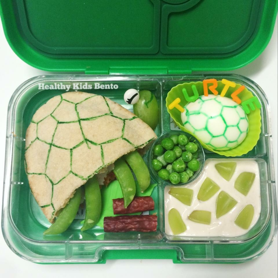 The Yumbox Panino Bento Turtle - Healthy Kids Bento
