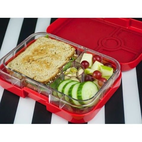 The Yumbox Panino Rocket Red
