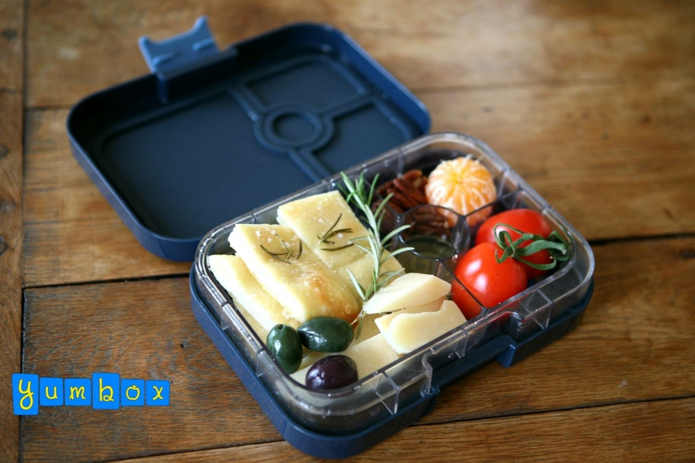 The Yumbox Panino Foccacia Lunch