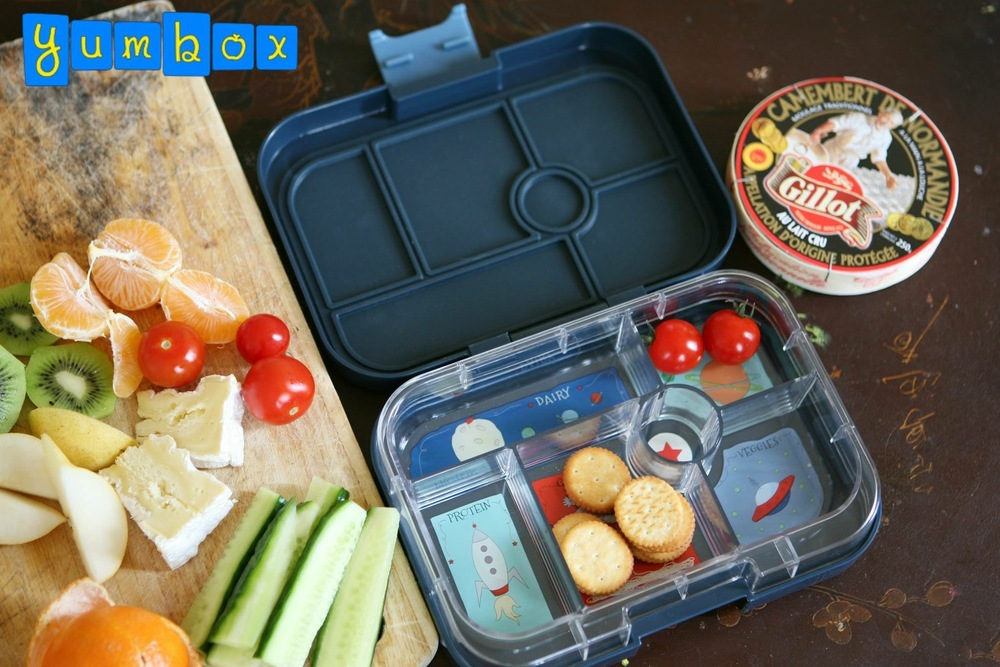The Yumbox Classic Being Filled