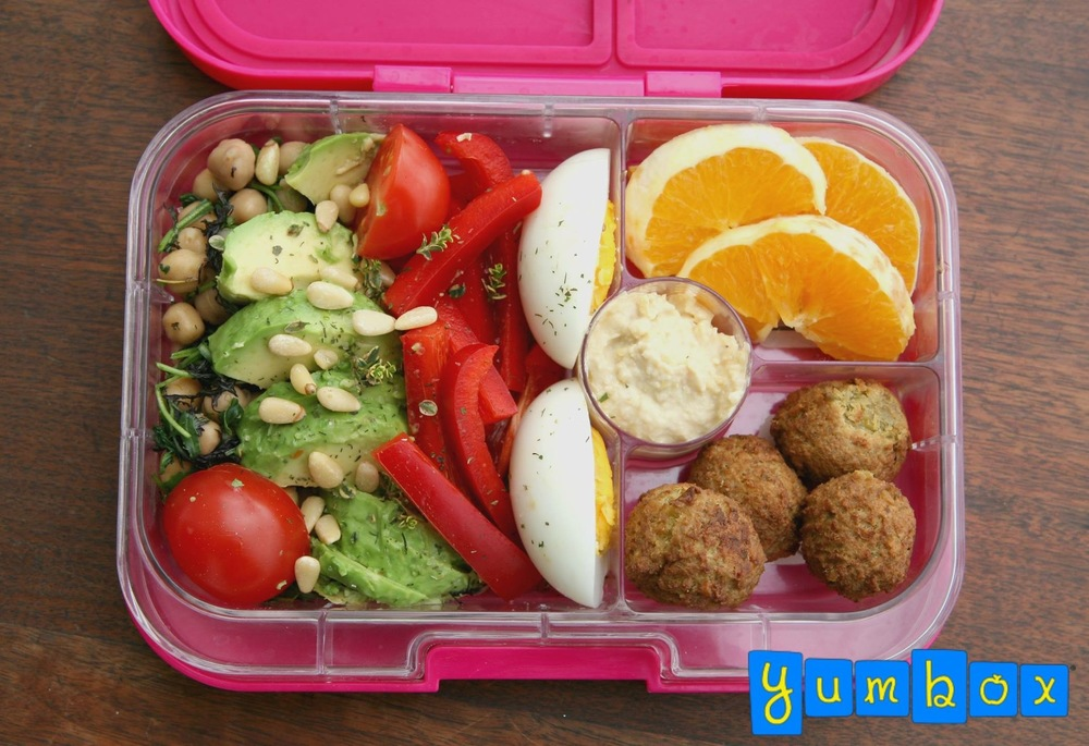 The Yumbox Panino Salad