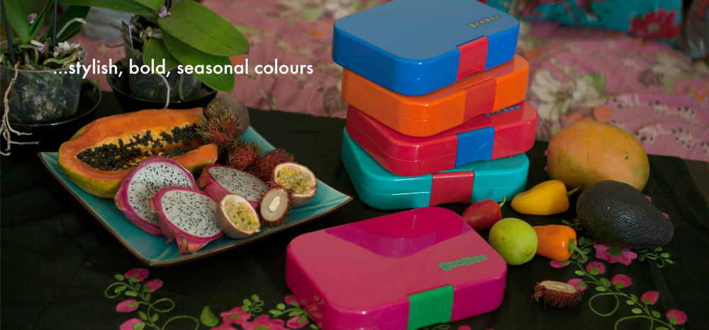 Yumbox Lunchbox summer 2016 colours