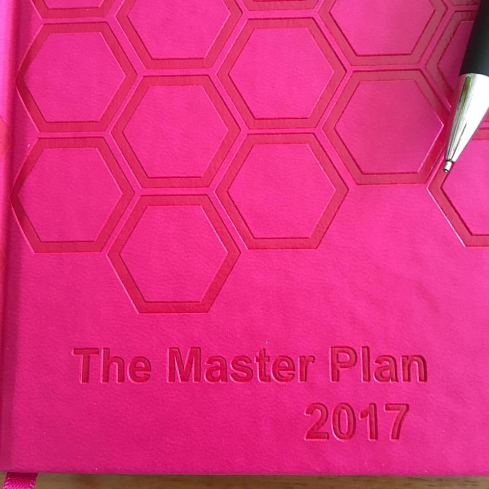 The Master Plan 2017 Diary