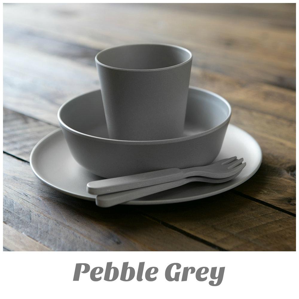 Bamboo Dinnerware Pebble Grey.jpg & Bamboo Dinner Set - Pebble Grey u2014 EatWell-UK