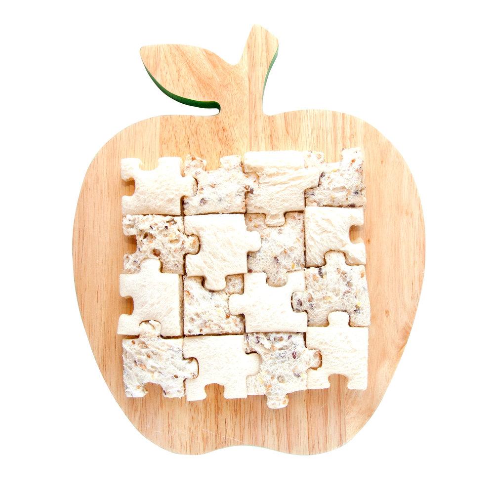 Lunch Punch Sandwich Cutters - Jigsaw