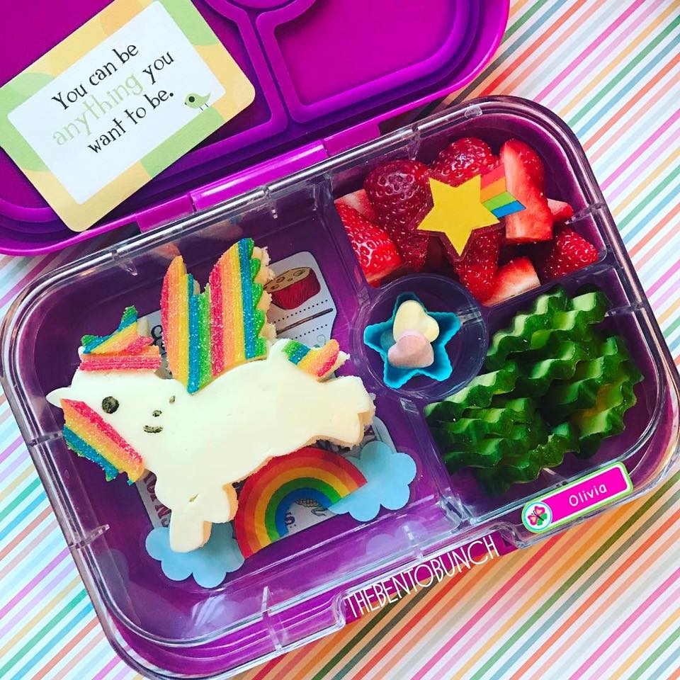 Bento Bunch Unicorn Sandwich Panino