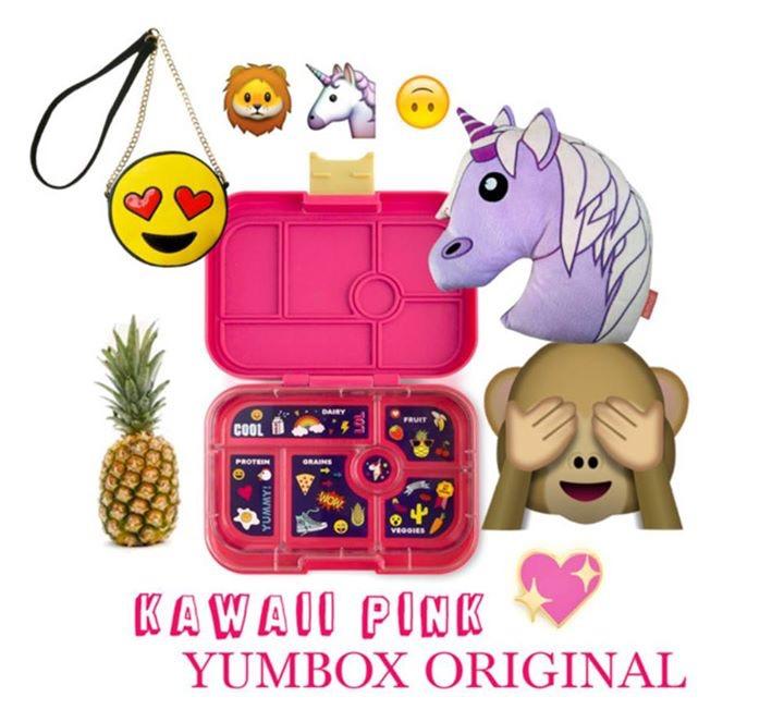 Yumbox Kawaii Pink