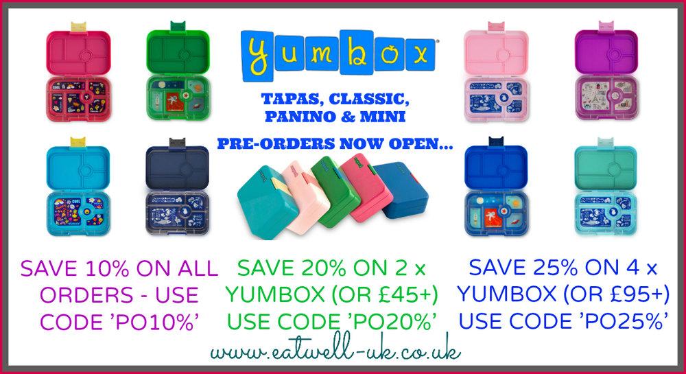 YUMBOX PRE-ORDERS