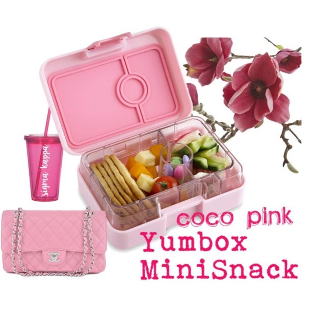 Yumbox Mini Snack CoCo Pink