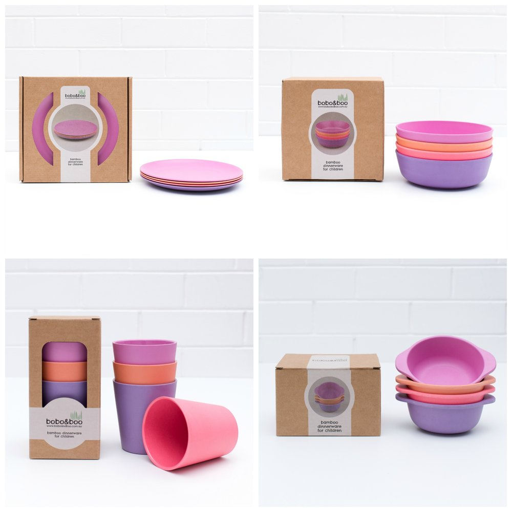 BoBo and Boo Bamboo Ultimate Dinner Set