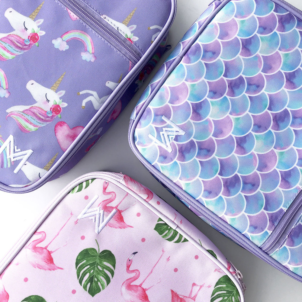 Montii Insulated Lunch Bags (with integrated ice pack)