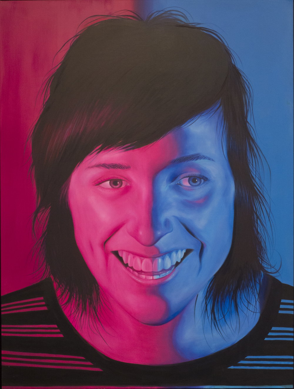 'Zoe' Oil on Board (120 x 90cm)