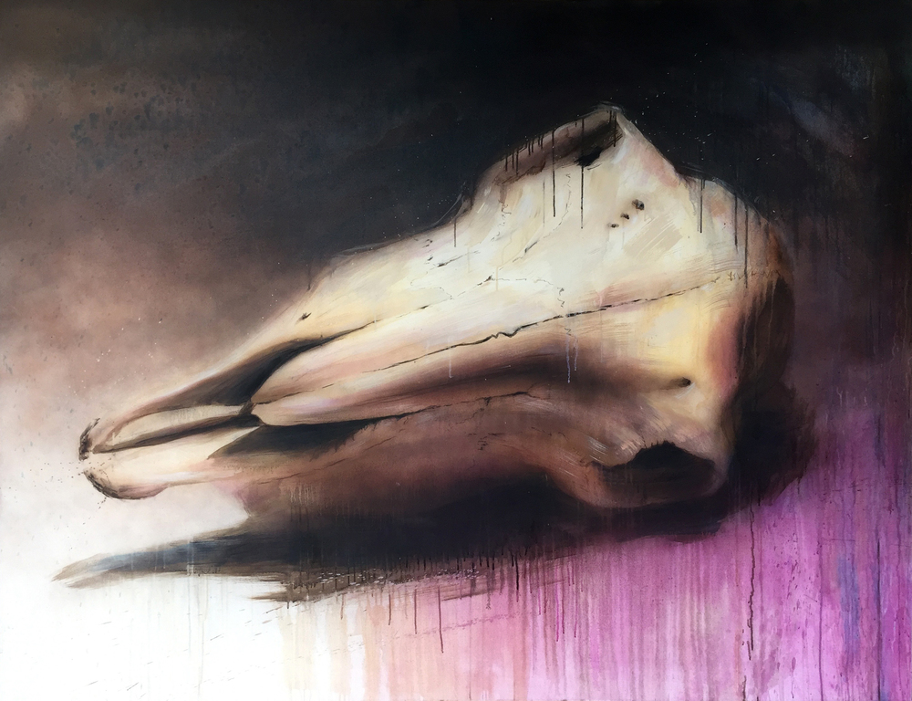 Oil on Canvas (150x200cm)