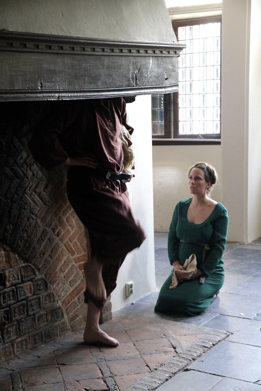 Theatraal am Waal 2014   Theater gezelschap Gore Maan, speelt Zwarte Zon.