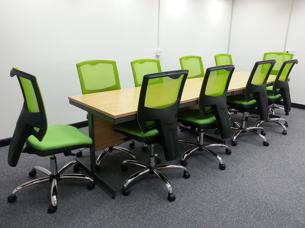 Reused chairs supplied by Recycled Business Furniture