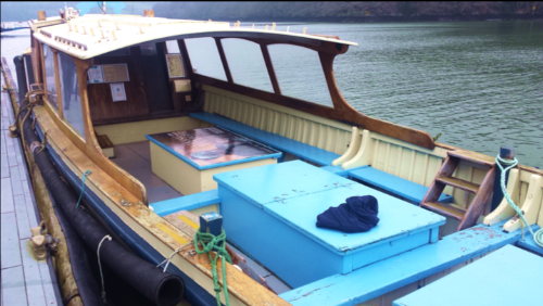 The Kingsley II. She might look a little tired now but watch this space!