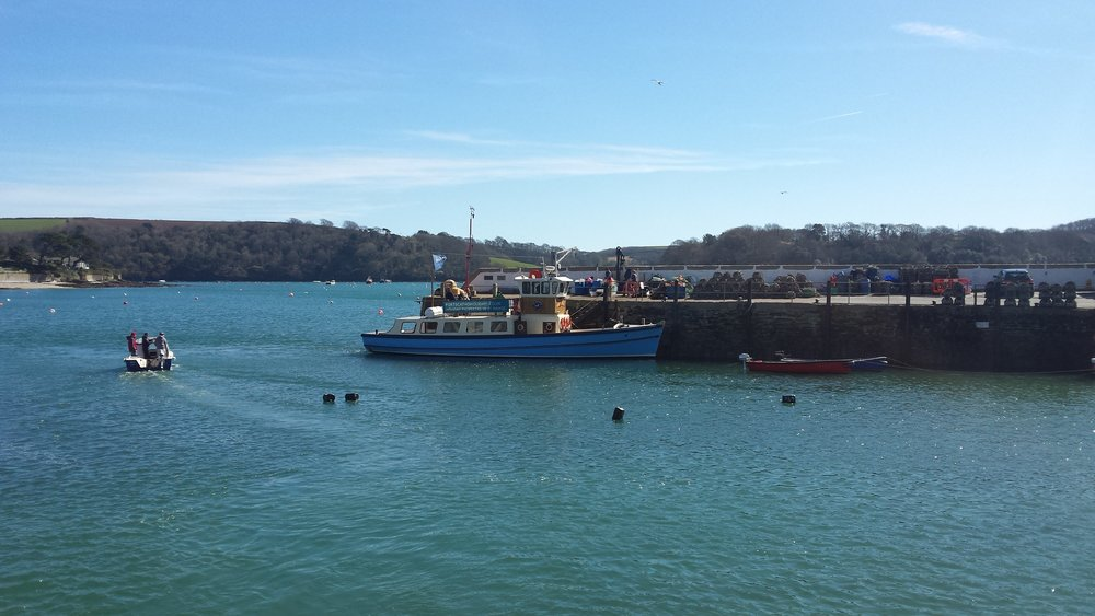 Beautiful Falmouth, Cornwall UK. Location of the Kingsley II launch for the HEVIMA Project later this year.