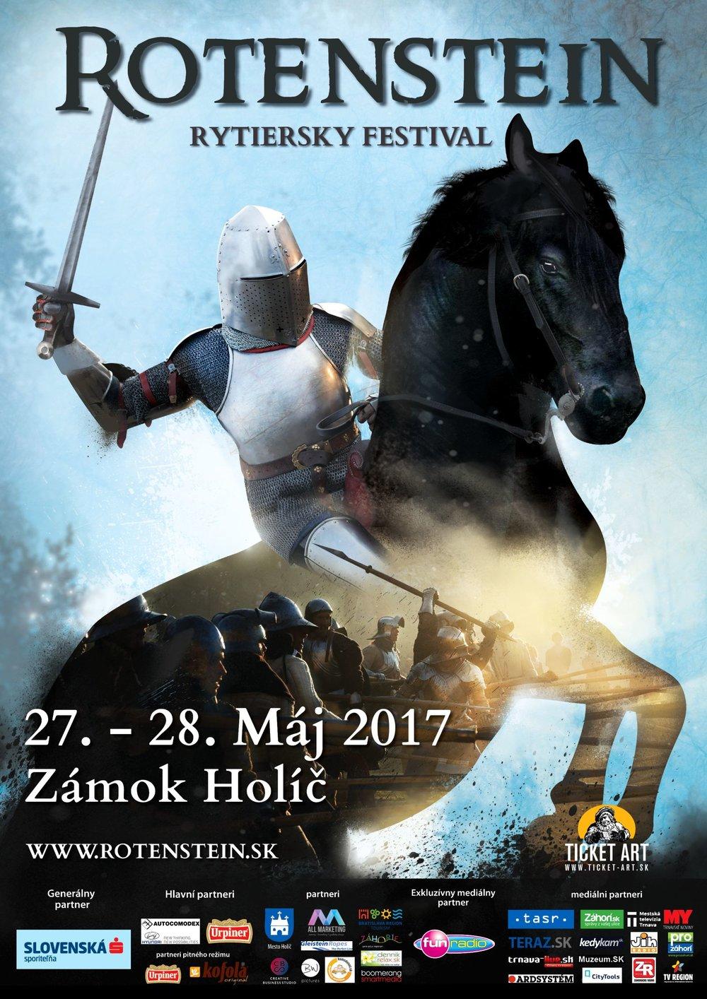 Plagát Rotenstein 2017 - Plagát na rytiersky festival Rotenstein si môžete stiahnuť tu.