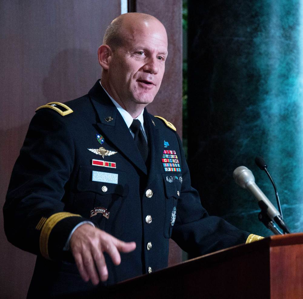 Brigadier General Ivan Denton, Director of Manpower and Personnel (J-1), National Guard Bureau