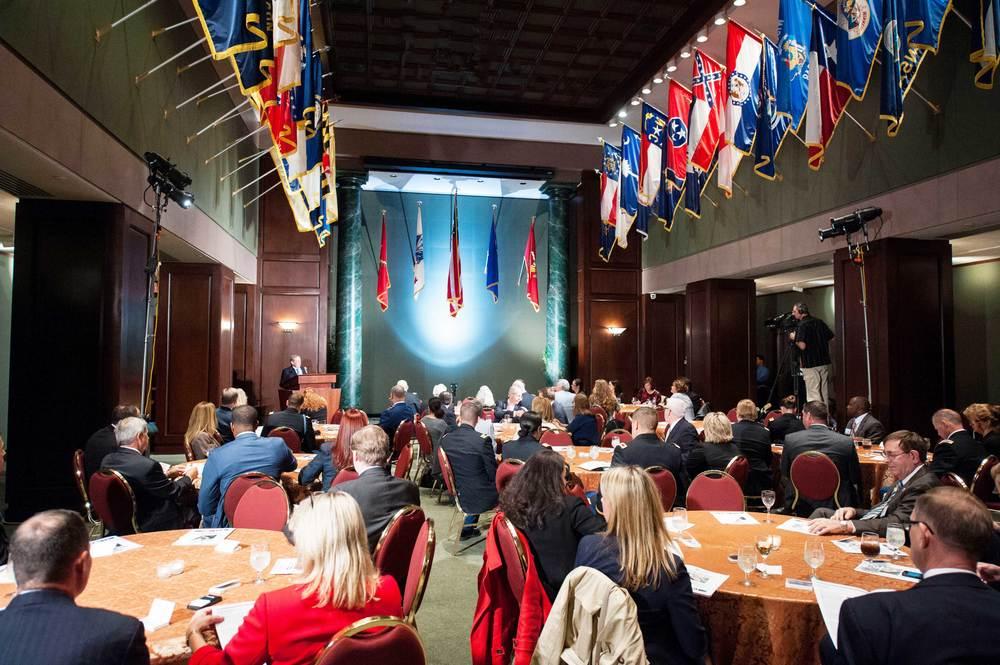 CFA Awards Reception, Hall of Flags, National Guard Association of the U.S., Washington, DC
