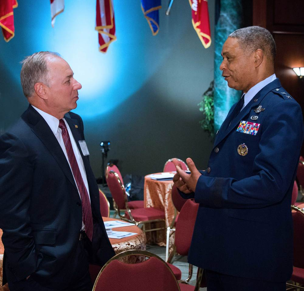 Larry Ziemba, Phillips 66 and Major General Garry Dean, National Guard Bureau