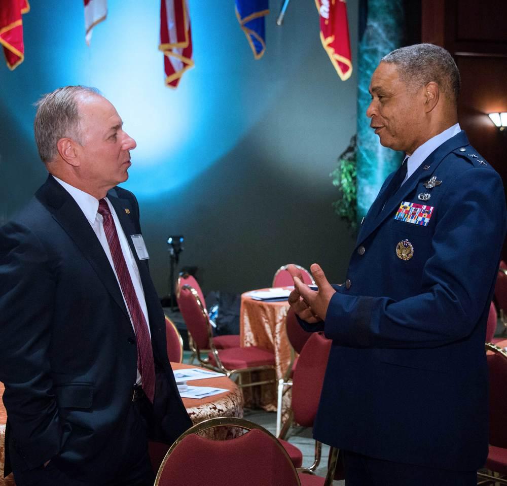Larry Ziemba, Phillips 66 and Major General Garry Dean, National Guard Bureau