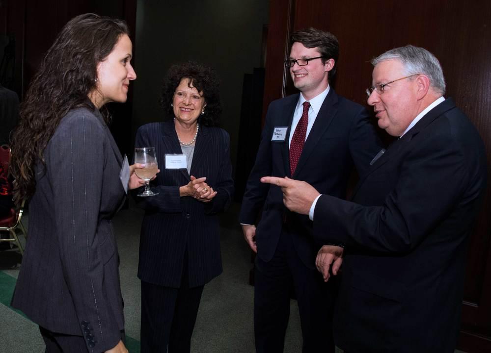 Angela Caban, Ed4Online; Karen Kaplowitz, Center for America; Peter Terenzio III; Peter Terenzio, Jr., Phillips 66