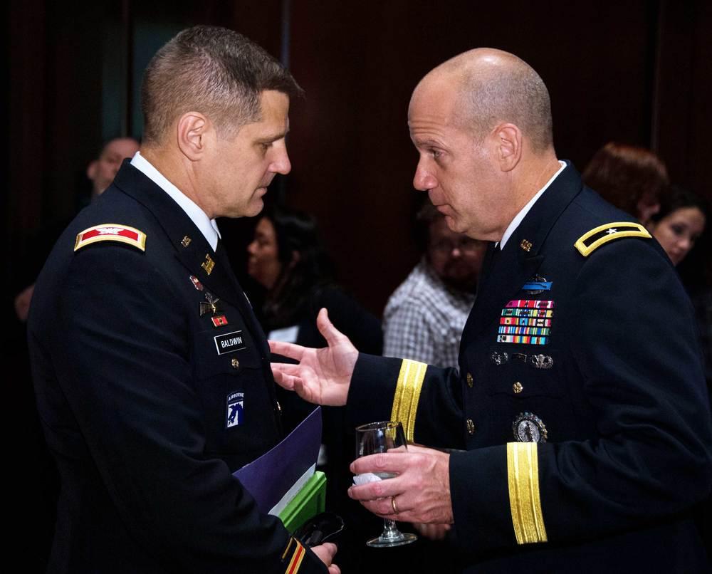 COL Rich Baldwin and Brigadier General Ivan Denton, National Guard Bureau