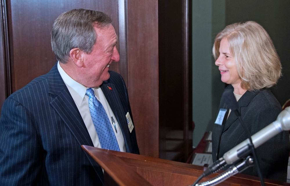 Major General (ret) Gus Hargett, National Guard Association of the U.S. and Brigadier General (ret) Marianne Watson, American Jobs for America's Heroes