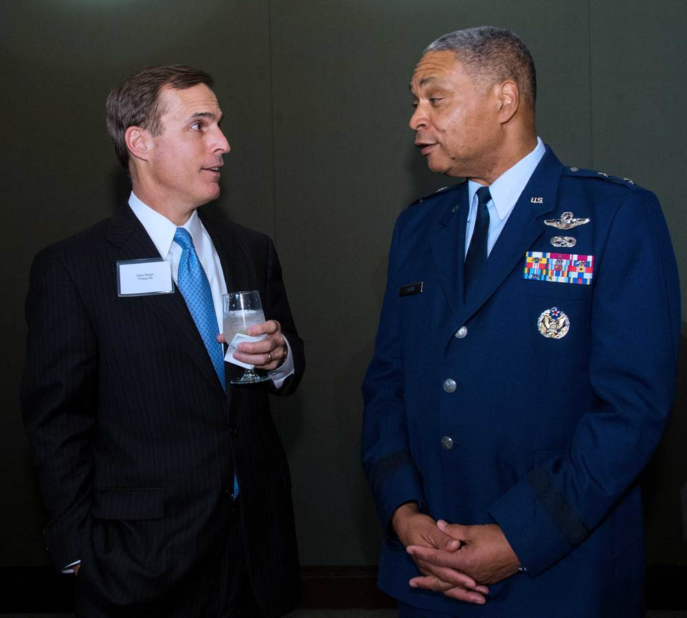 Dave Regan, Phillips 66 and Major General Garry Dean, National Guard Bureau