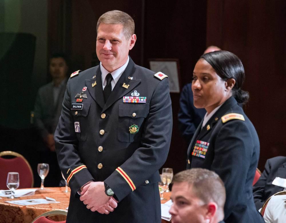 COL Rich Baldwin and LTC Shawn Edwards, National Guard Bureau