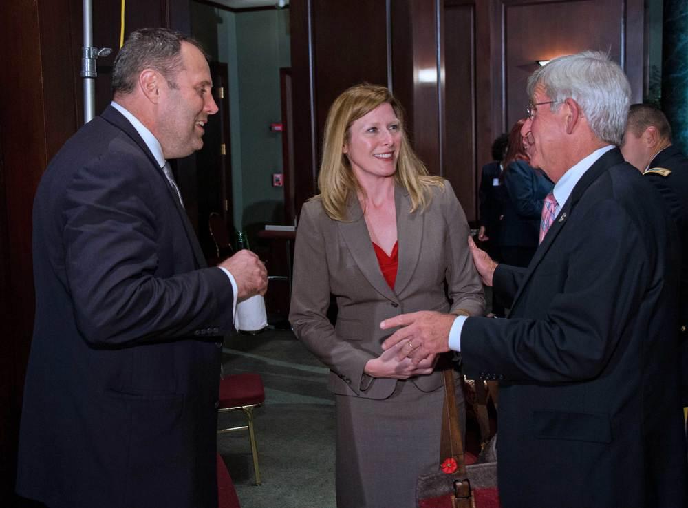 M. Rhett Jeppson and Barbara Carson, U.S. Small Business Administration; Keith Kelly, U.S. Department of Labor