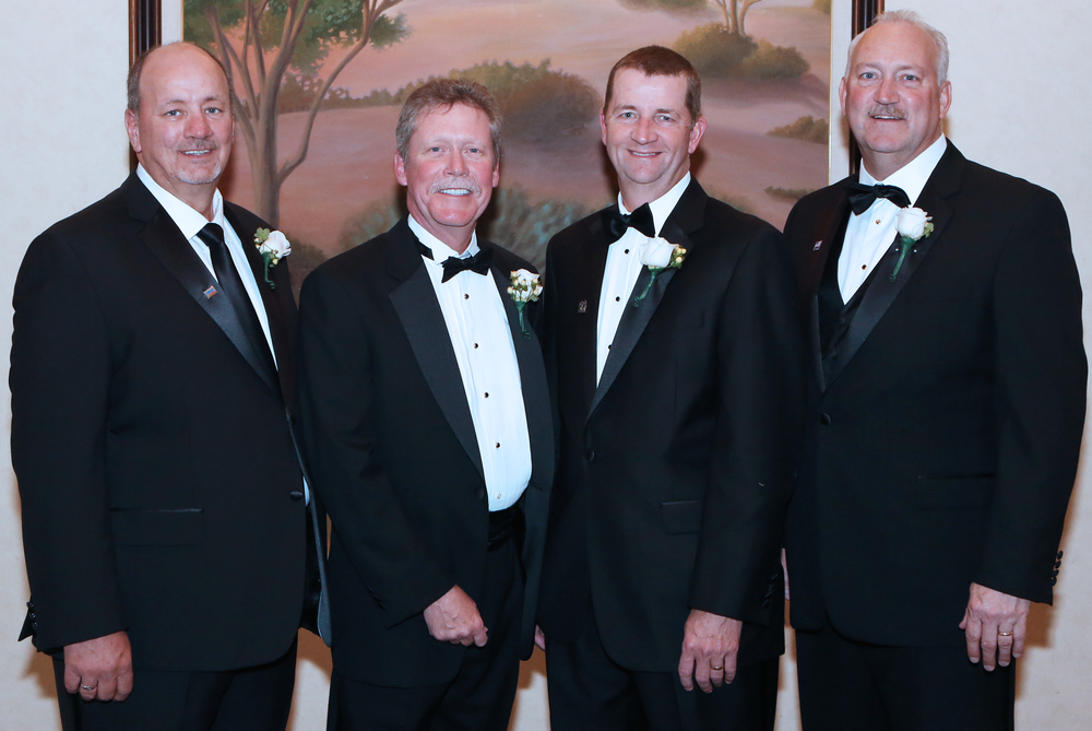 PMA Officers (L-R): Ron Lowry, William Smith, Jody Fledderman and Bill Adler.