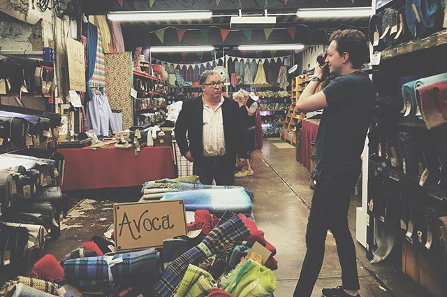 Getting educated on the history of the clothing trade in the UK for a new documentary about second hand clothing. A big thank you to @fabworksmillshop for getting me started with this story. #filmmaker #documentary #clothingindustry #secondhandclothing #director