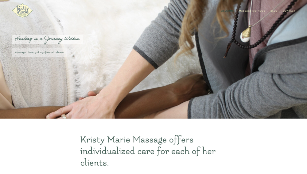 Kristy Marie Massage and Myofascial Release