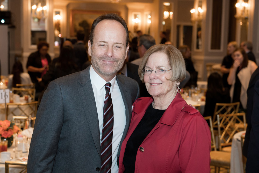 John Landgraf and his mom