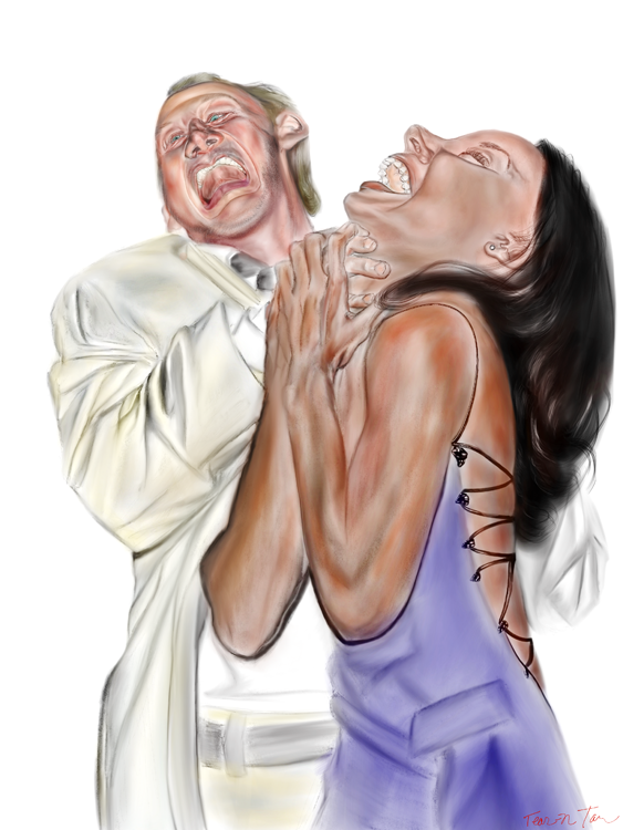Robert Englund and Kelly Rowland