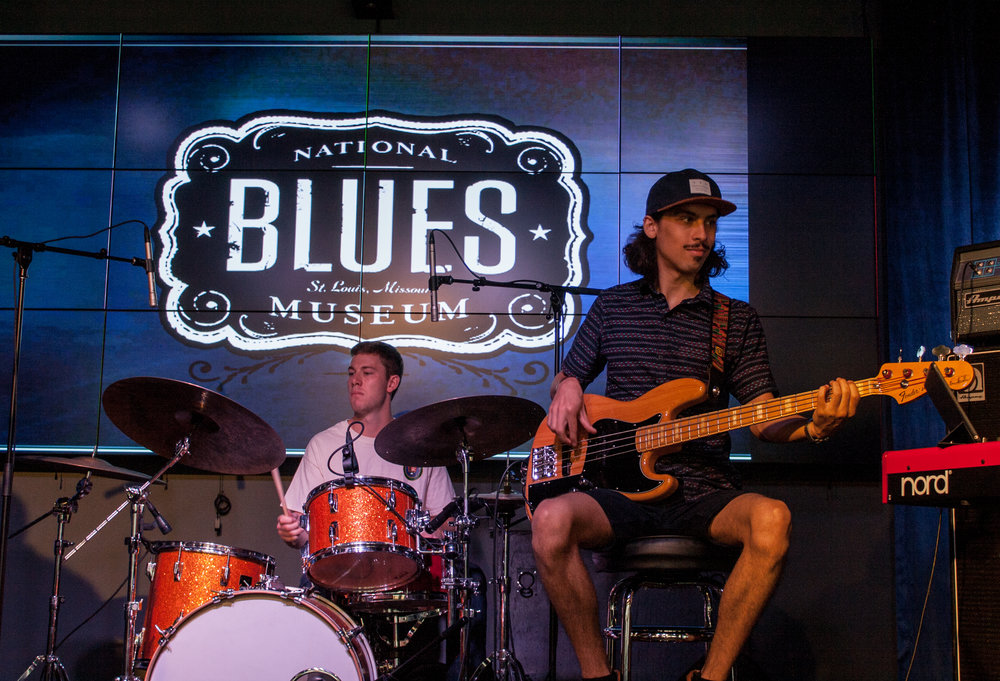 National Blues Museum. St. Louis, Missouri