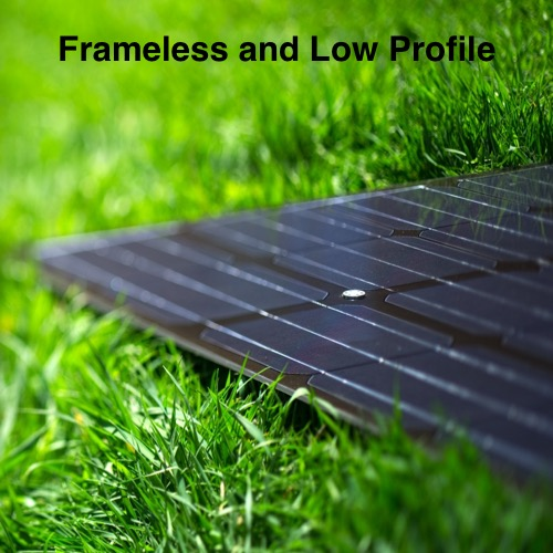 The low profile of LSX frameless modules sets them apart from any other module on the market.