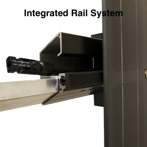 Ensures proper module alignment every time and LSX Rail can be fastened to virtually any structure with minimal sub-components.