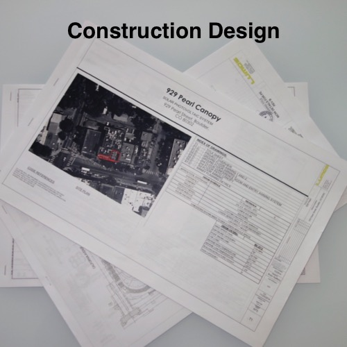 Lumos Solar Engineers will generate drawings and construction documentation used in permitting and construction.