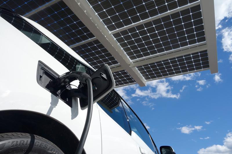 SmartPark Solar EV Charging Station