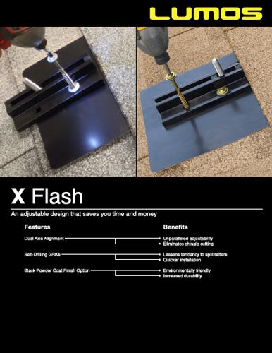 X Flash Spec Sheet