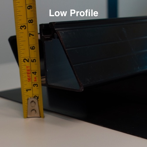 Create an aesthetically superior roof mounted array