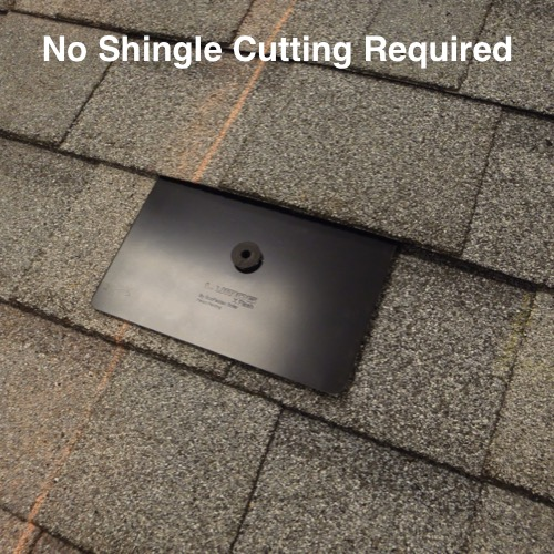 Save installation time and maintain the full integrity of the roof