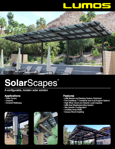 SolarScapes Spec Sheet
