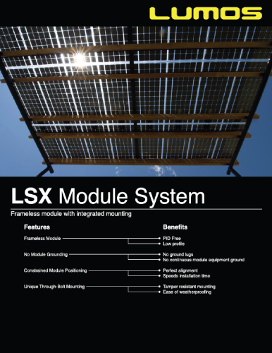 LSX Spec Sheet