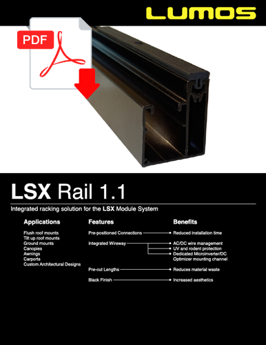 LSX  Rail 1.1 Spec Sheet