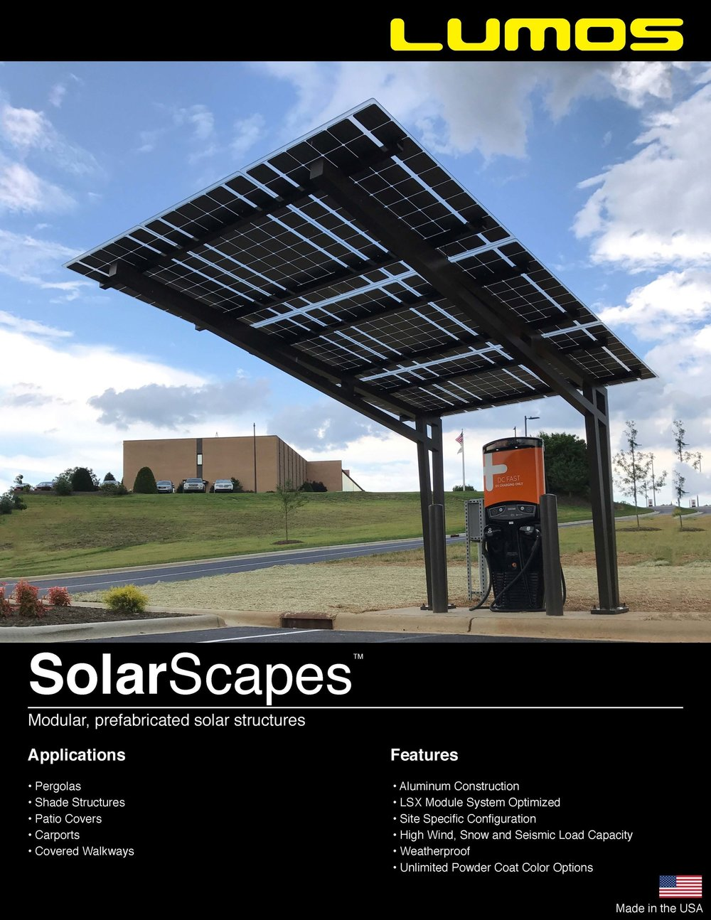 Solar Scapes Spec Sheet