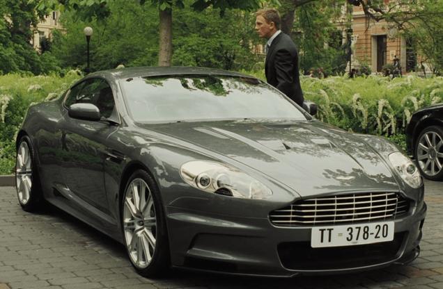 DBS car in Casino Royale